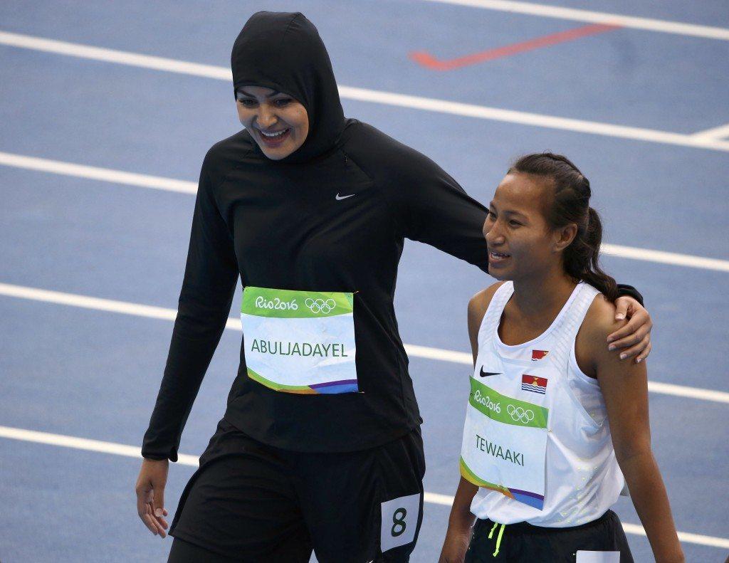Rio 2016 atletica: La sprinter dell'Arabia Saudita entra nella storia, è la prima donna che corre i 100 metri alle Olimpiadi
