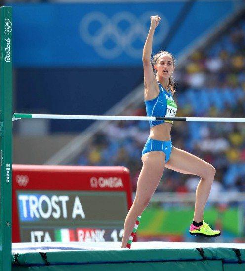 Alessia Trost e Ayomide Folorunso attese domani  a Zurigo per  la prima delle due finali della IAAF Diamond League