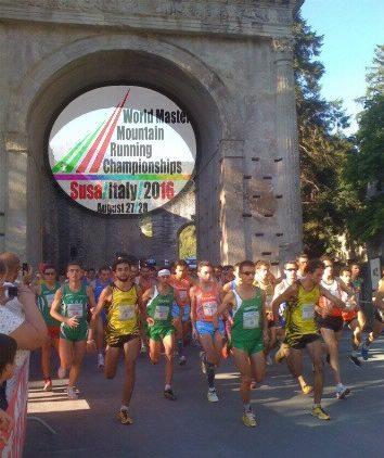 Al via i Mondiali Master di Corsa in Montagna a Susa