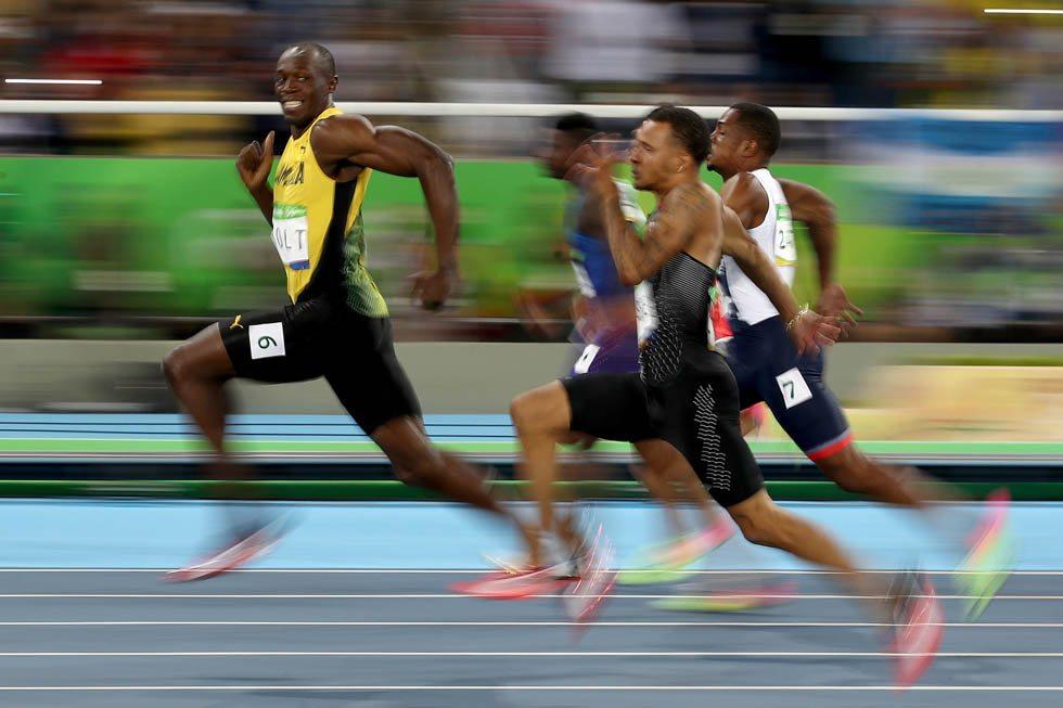 Rio 2016 Atletica: La foto di  Bolt più spettacolare, ma come è stata scattata?