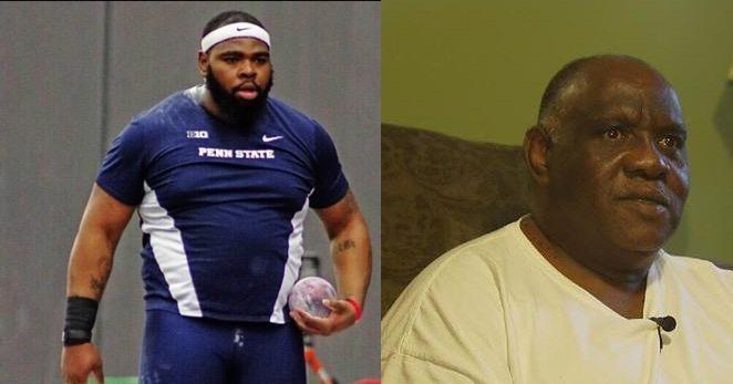 """Lanciatore di peso Usa """"lancia"""" campagna raccolta fondi per far assistere il padre alla sua gara olimpica"""