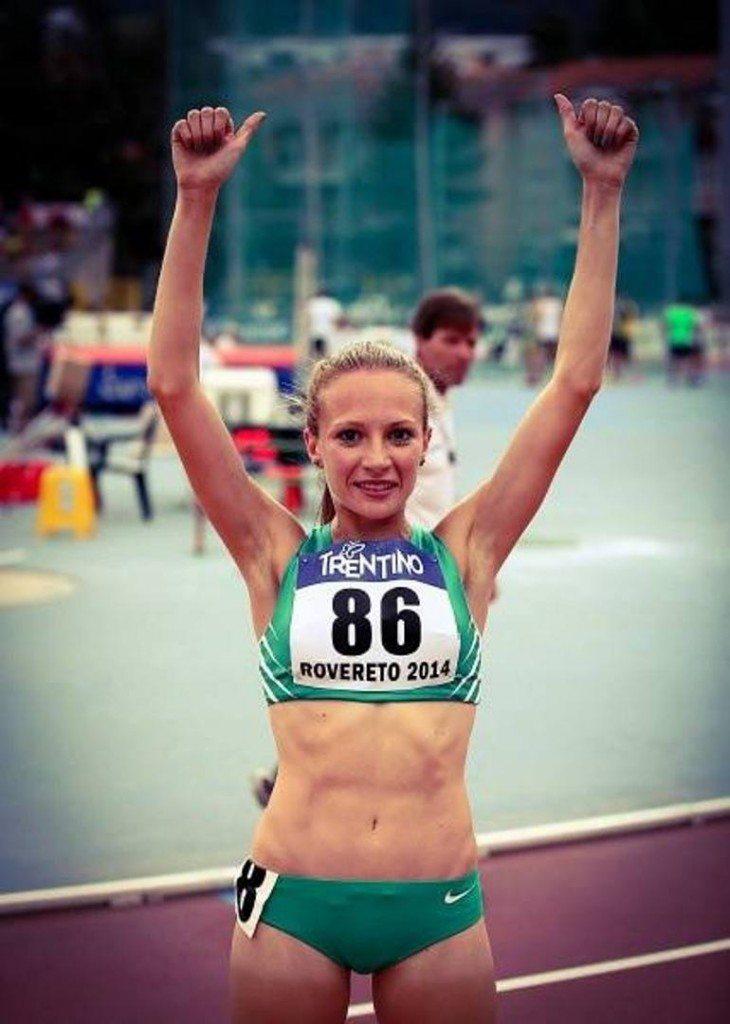 Federica Del Buono a Cles torna e vince i 1500 metri