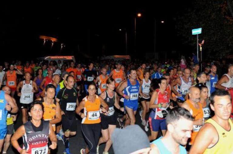 Roma By Night Run 2016: Vincono Fabrizio Chiominto e Maria Grazia Bianchi Espinoza