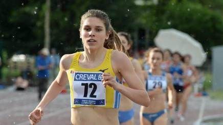 Marta Zenoni terza al rientro negli 800 metri nella Coppa Europa per Club Junior