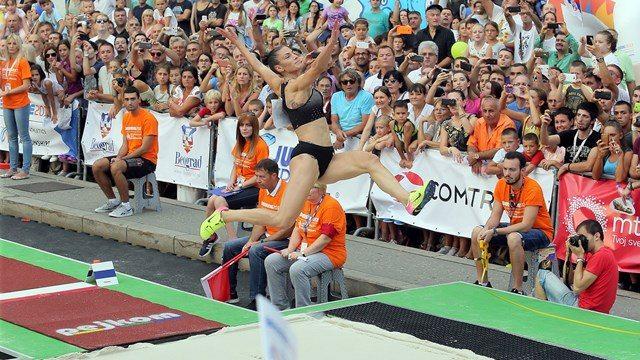Ivana Spanovic grande record serbo nel lungo, m. 7,10