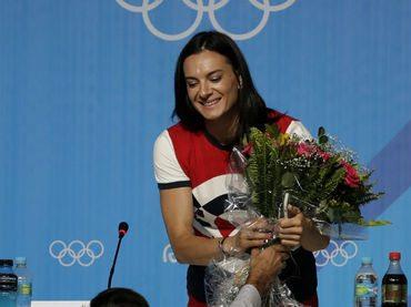 Yelena Isinbayeva dopo il ritiro è pronta per la poltrona di Presidente della Federazione Russa