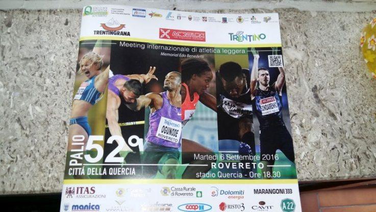 Oggi la diretta su Raisport 1 del Palio Città della Quercia di Rovereto dalle ore 20,00