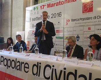 Presentata l'edizione numero 17 della Maratonina di Udine, atteso Giorgio Calcaterra