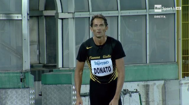 Fabrizio Donato a Rovereto sfiora i 17 metri nel triplo