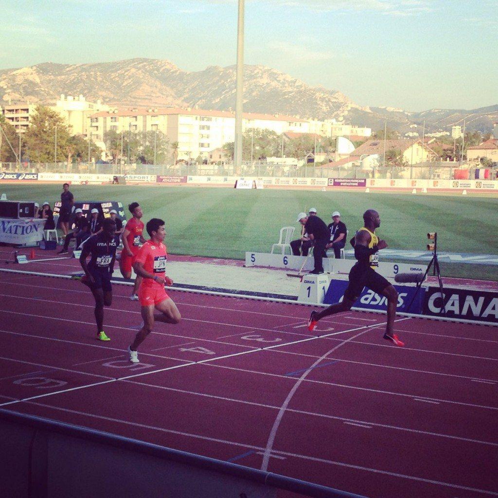 Asafa Powell vince i 100 m. al Decanation, ottimo 5,80 di Lavellenie nell'asta