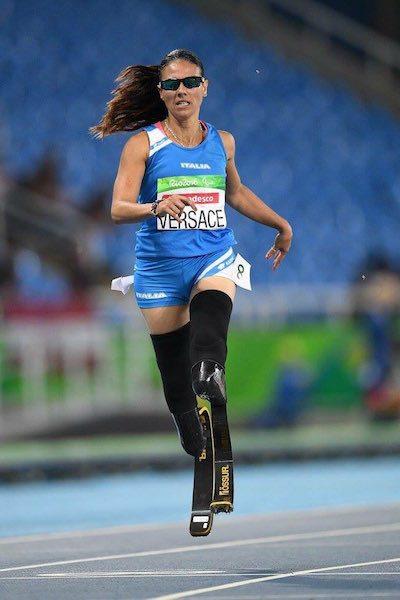 Giusy Versace ottava nei 200 metri alle Paralimpiadi di Rio