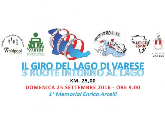 """Grande festa per l'edizione 2016 del """"Giro del lago di Varese"""""""