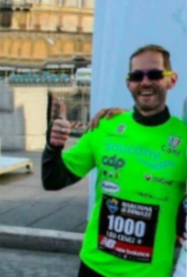 Leonardo Cenci, malato di cancro, sarà il primo italiano a correre la Maratona di New York