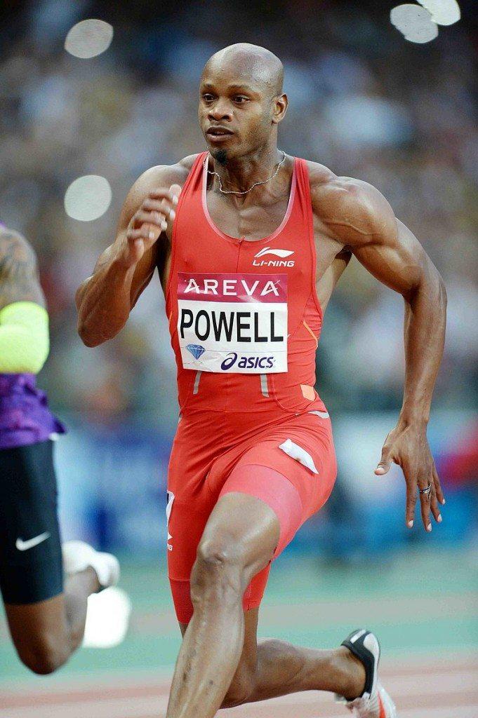 Asafa Powell vince i 100 metri a Zagabria davanti al bobbista Fearon- Il Video