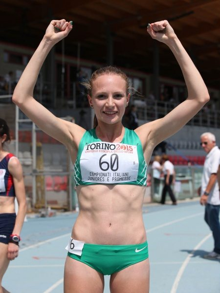 Federica Del Buono record italiano U23 a Rovereto