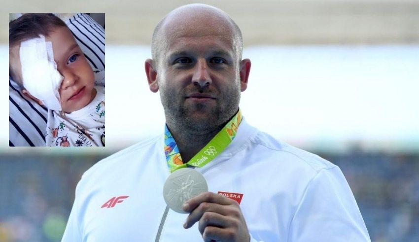 Piotr Malachowski ce l'ha fatta: raccolti 126.000 dollari per l'operazione di un bambino che rischiava la cecità