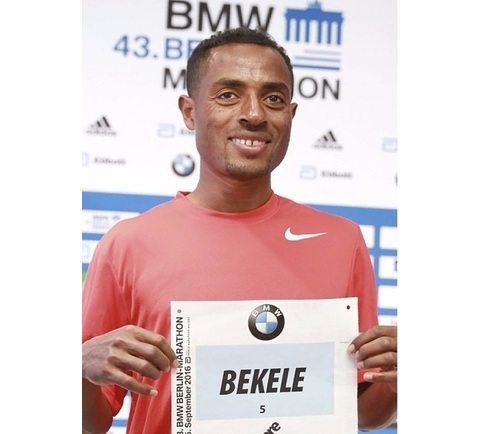 KENENISA BEKELE sfiora il record del Mondo nella maratona di Berlino!