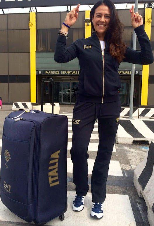 Giusy Versace pronta  per Rio! L'atleta paralimpica  correrà 100, 200 e 400 metri