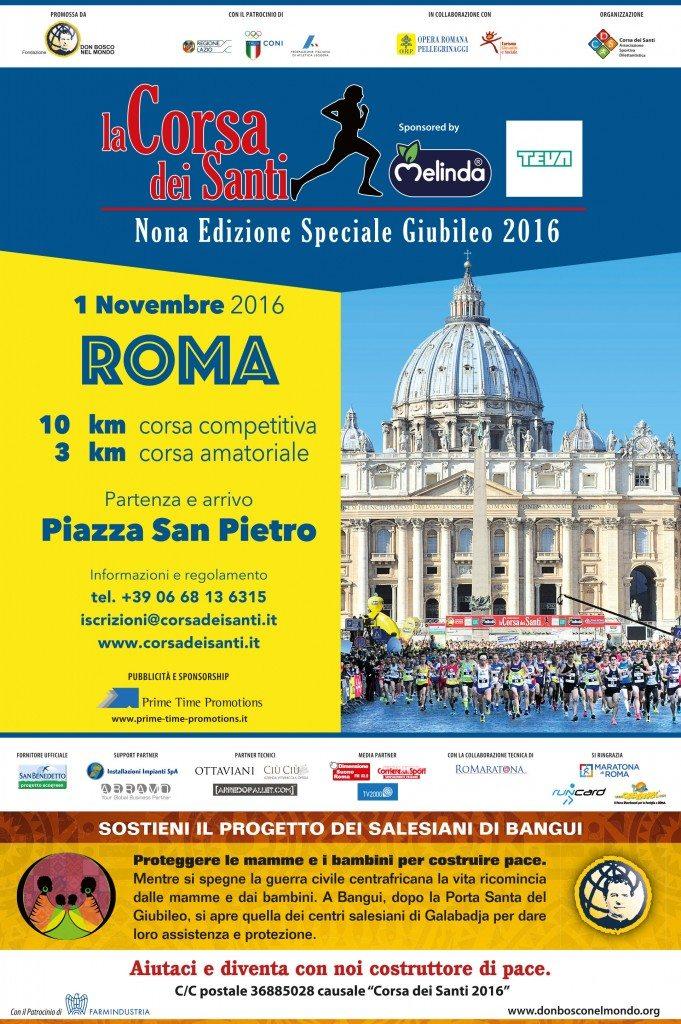 Tutto pronto per la Corsa dei Santi del 1° Novembre a Roma