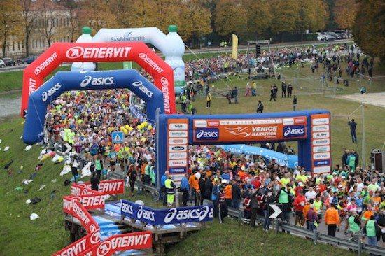 La 31^ Venicemarathon fa correre oltre 24.000 persone!