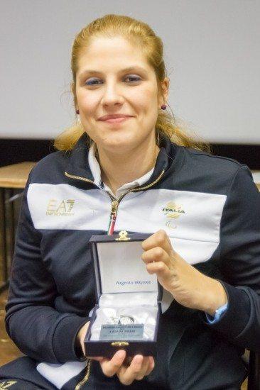 Giada Rossi Premio Melograno d'Argento per il Sociale