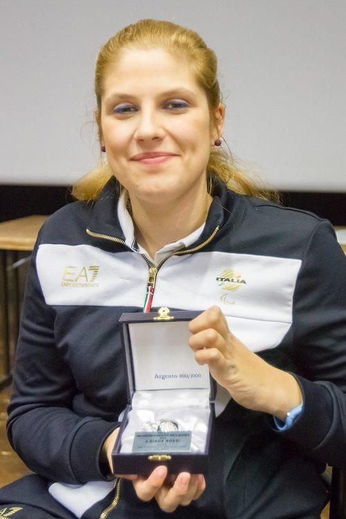 Giada Rossi si racconta a studenti e disabili al 19° Meeting Sport Solidarietà Giovani