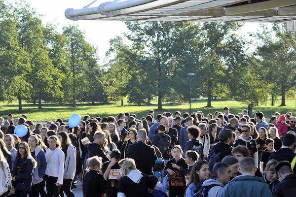 """Oltre 6000 studenti questa mattina al Parco San Giuliano di Mestre per l'Alì Family Run -Stefano Baldini: """"Un grande entusiasmo che fa bene all'' atletica"""""""