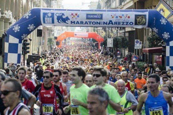 Domenica 30 Ottobre al via la 18esima Maratonina Città di Arezzo