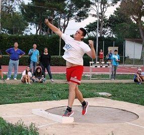 Carmelo Musci super a Bari, 20,63 a pochi centimetri dal Primato italiano cadetti