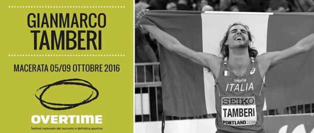 Gianmarco Tamberi oggi a Macerata per Overtime,  festival nazionale del racconto e dell'etica sportiva