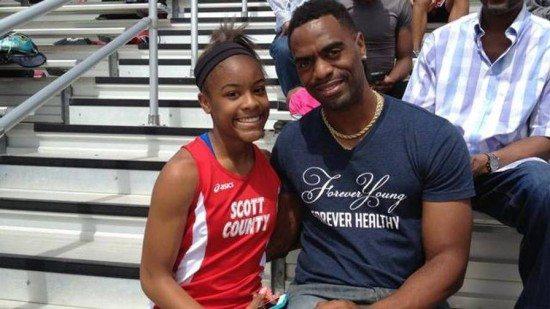Tyson Gay dopo la morte della figlia aiuterà i giovani meno fortunati