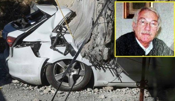 Crollo cavalcavia, choc, l'automobilista morto è Claudio Bertini,ex dirigente della Pro Patria Milano