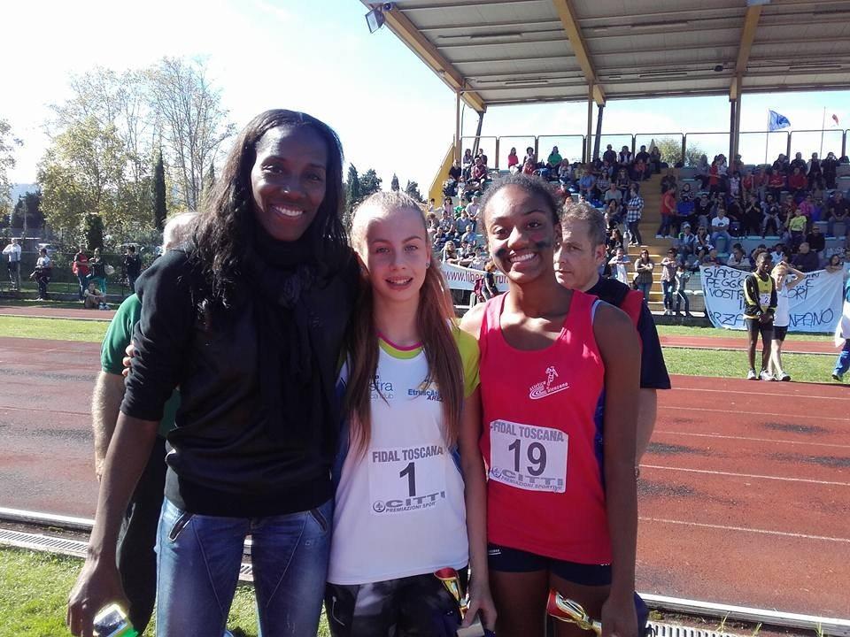 Italiani cadetti Cles 2016: Clarissa Iapichino, doppia figlia d'arte (la mamma Fiona May) vince i 300 m ostacoli