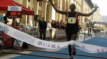 Risultati 18^ edizione della Maratonina Internazionale Città di Arezzo
