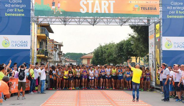 Telesia Half Marathon 2016: Già il primo record,  gli iscritti saranno oltre 2200