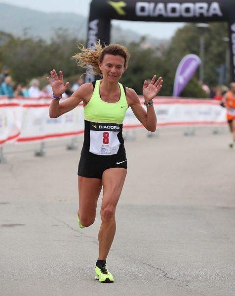 "Valeria Straneo vince ""facile"" la31esima Mezza Maratona d' Autunno a Novi Ligure (AL)"