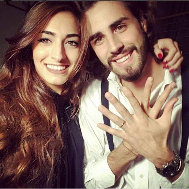 Gianmarco Tamberi e la  fidanzata Chiara Bontempi festeggiano 7 anni insieme