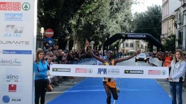 Risultati La Mezza di Treviso: Vince il keniano Paul Kariuki Mwangi a tempo di record