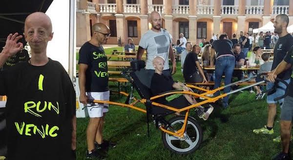 Una Venicemarathon in allegria per Sammy Basso