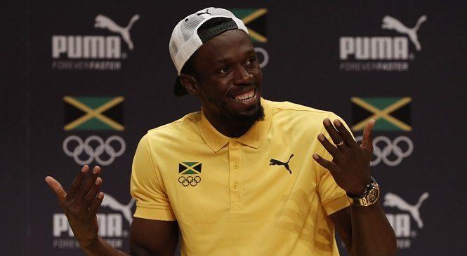 Usain Bolt andrà in Australia per 15 giorni di relax