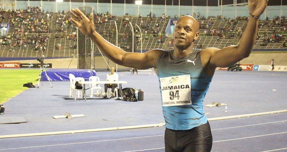 Asafa Powell annuncia: Correrò fino al 2018. niente Tokyo 2020