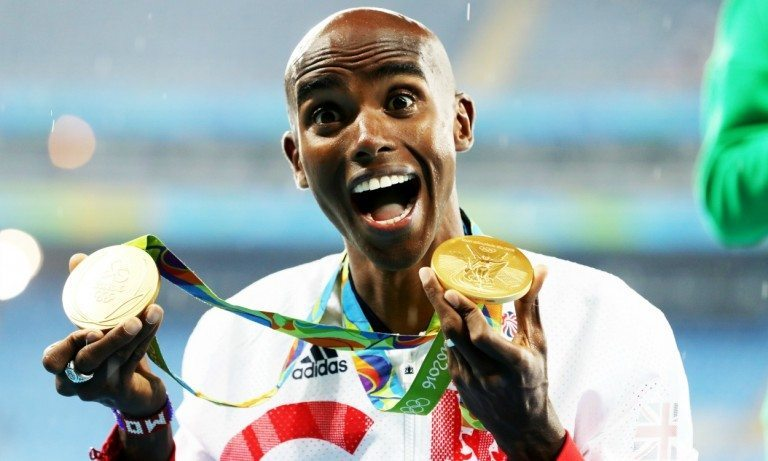 Mo Farah e Jessica Ennis eletti migliori atleti dell'anno in Gran Bretagna