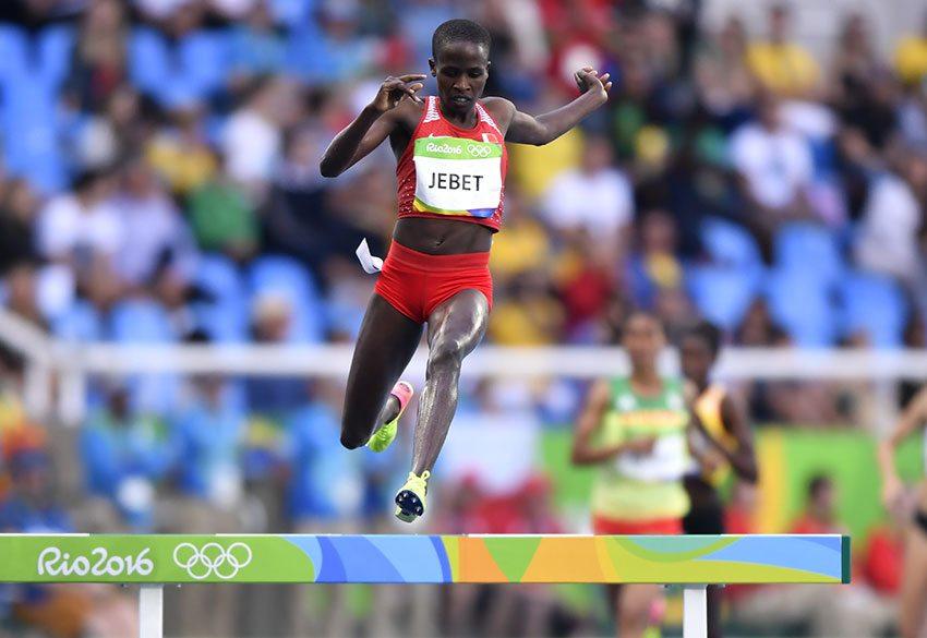 La IAAF ratifica il record mondiale dei 3.000 metri siepi di Ruth Jebet