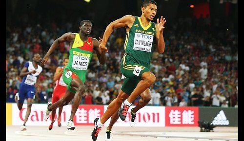 Wayde Van Niekerk eletto Miglior atleta maschile delle Olimpiadi di  Rio 2016