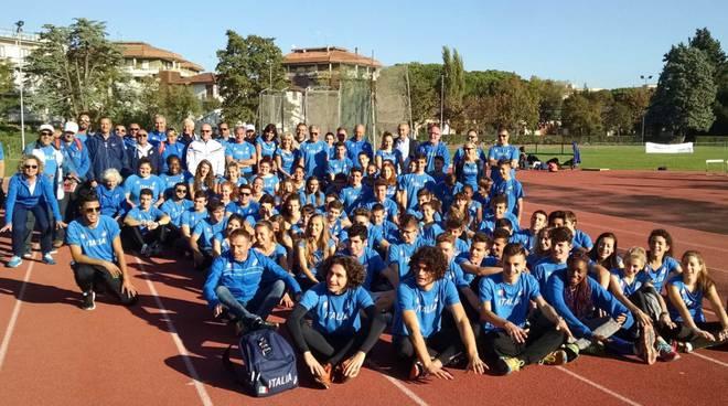 Concluso a Grosseto il raduno degli 80 azzurrini che si allenano per gli Europei 2017