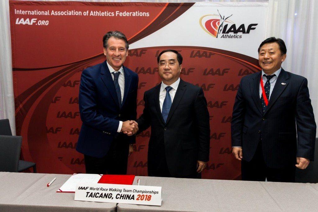 Marcia: La Cina organizzerà  i Campionati Mondiali a squadre nel 2018 al posto di Cheboksary