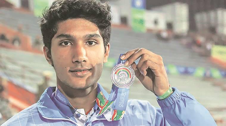 Saltatore in alto indiamo a 17 anni vola a m. 2,26