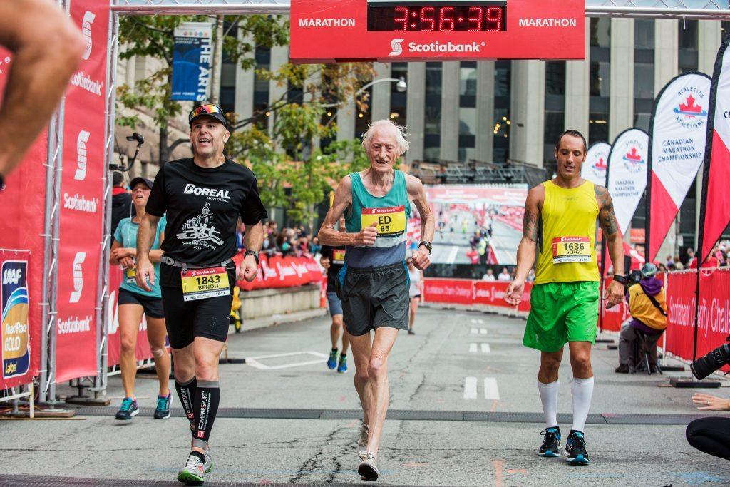 Atletica Master.: L' 85enne maratoneta  Ed Whitlock stupisce, è troppo veloce