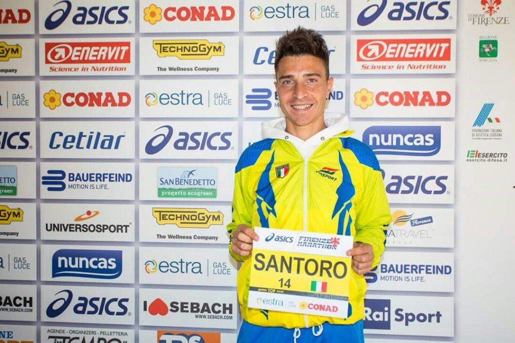 Grandissimo risultato per Dario Santoro alla Maratona di Firenze -di Matteo SIMONE