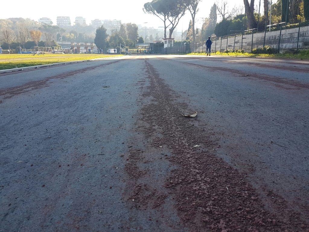 Problema impianti atletica: il degrado dell'Acquacetosa a Roma, la pista di Pietro Mennea